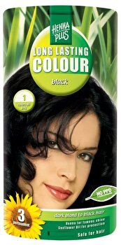 Vopsea par, Long Lasting Colour, Black 1, 100 ml