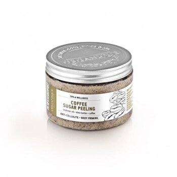 Exfoliant corp cu cafea, 450 ml de la Organique