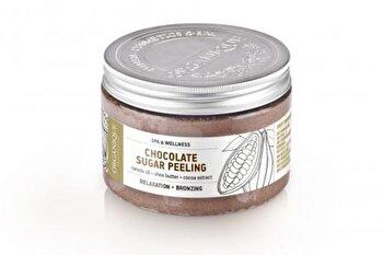 Exfoliant corp, cu ciocolata, 450 ml