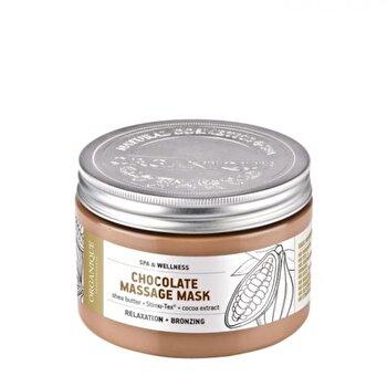 Masca pentru masaj, bronzanta, cu ciocolata, 450 ml de la Organique