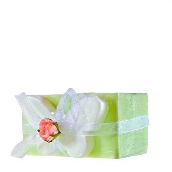 Sapun decorativ fluture verde si glicerina, Organique, 120 g de la Organique