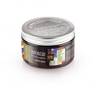 Exfoliant corp cu shea, grepfruit si albastrele, 450 ml de la Organique