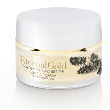 Crema contur ochi, cu aur, 15 ml de la Organique