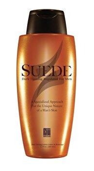 Accelerator bronzant, pentru barbati, Suede cu SPF0, 200 ml de la Fiji Blend