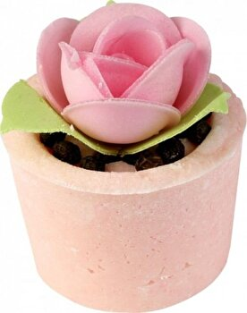 Sare baie Mallow Garden Party, 50 g de la Bomb Cosmetics