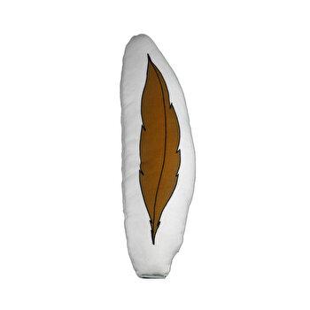 Perna decorativa copii Cipcici, 432CPC3160, 15 x 41 cm, Maro de la Cipcici