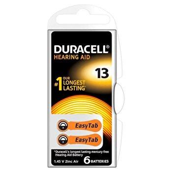 Baterie Duracell pentru aparat auditiv DA13 6buc de la Duracell