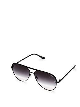 Ochelari de soare Quay Australia High Key QC-000142-BLK/FADE de la Quay Australia