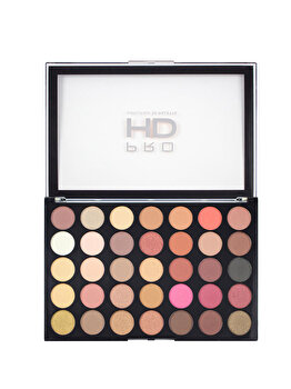 Paleta farduri de ochi Pro HD Amplified Socialite, 35 culori, 21.95 g de la Makeup Revolution London