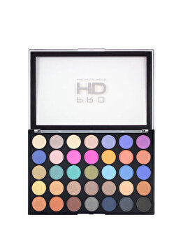Paleta farduri de ochi Pro HD Amplified Defiant, 35 culori, 21.95 g de la Makeup Revolution London