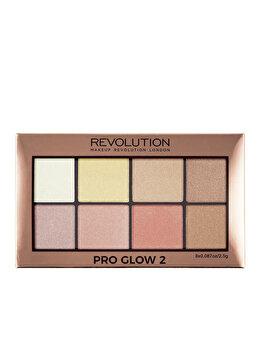 Paleta pentru iluminarea tenului Pro Flow 2, 20 g de la Makeup Revolution London