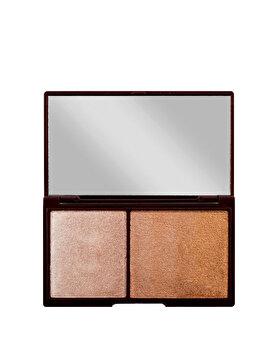 Paleta pentru iluminare si conturare I Heart Makeup, 11 g