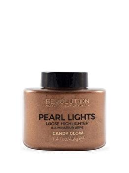 Pudra iluminatoare Pearl Lights, Candy glow, 42 g de la Makeup Revolution London