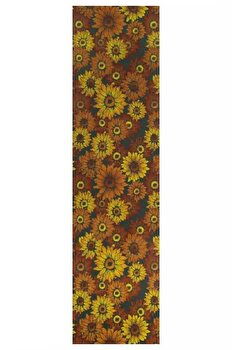 Traversa Decorino Floral CT231-131213, Multicolor, 67×300 cm de la Decorino