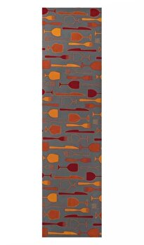 Traversa Decorino Modern & Geometric CT323-131214, Multicolor, 67×150 cm de la Decorino