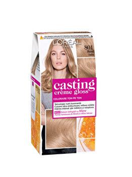 Vopsea de par semi-permanenta fara amoniac L Oreal Paris Casting Creme Gloss 801 Blond Satin de la L Oreal Casting Creme Gloss