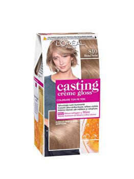 Vopsea de par semi-permanenta fara amoniac L Oreal Paris Casting Creme Gloss 810 Blond Perlat