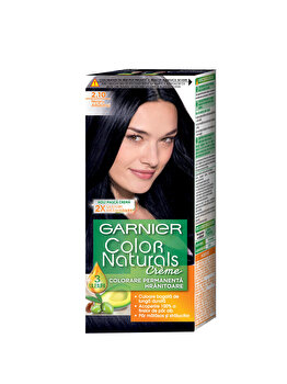 Vopsea de par permanenta cu amoniac Garnier Color Naturals 2.10 Negru Albastrui de la Garnier Color Naturals