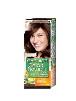 Vopsea de par permanenta cu amoniac Garnier Color Naturals 5 Saten Deschis de la Garnier Color Naturals