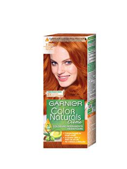 Vopsea de par permanenta cu amoniac Garnier Color Naturals 7.40 Cupru Pasional de la Garnier Color Naturals