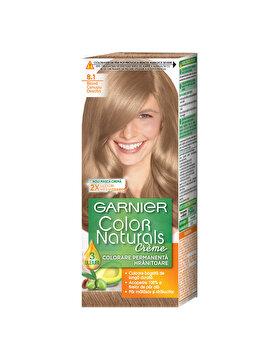 Vopsea de par permanenta cu amoniac Garnier Color Naturals 8.1 Blond Cenusiu Deschis de la Garnier Color Naturals
