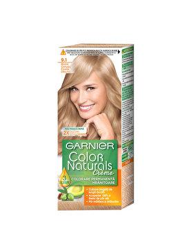 Vopsea de par permanenta cu amoniac Garnier Color Naturals 9.1 Blond Cenusiu Foarte Deschis