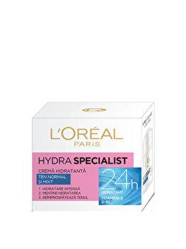 Crema hidratanta pentru fata L'Oreal Paris Hydra Specialist pentru ten normal si mixt, 50 ml de la L Oreal Paris