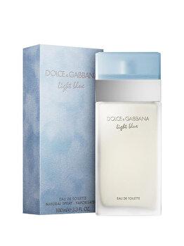 Apa de toaleta Dolce & Gabbana Light Blue, 100 ml, pentru femei de la Dolce & Gabbana
