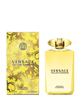 Gel de dus Versace Yellow Diamond, 200 ml, pentru femei de la Versace