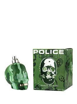 Apa de toaleta Police To Be Camouflage, 125 ml, pentru barbati de la Police