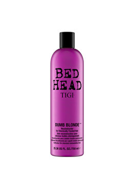 Balsam pentru parul blond Bed Head Dumb Blonde Reconstructor, 750 ml de la Tigi