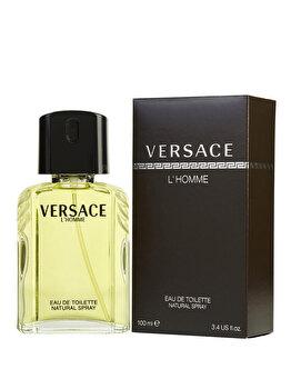 Apa de toaleta Versace L'Homme, 100 ml, pentru barbati de la Versace