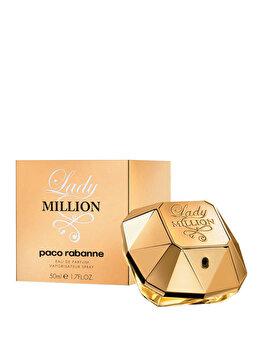 Apa de parfum Paco Rabanne Lady Million, 50 ml, pentru femei de la Paco Rabanne