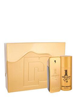 Set cadou Paco Rabanne 1 Million (Apa de toaleta 100 ml + Deospray 150 ml), pentru barbati de la Paco Rabanne