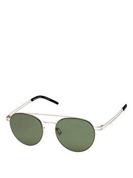 Ochelari de soare Le Specs Spartan Silver de la Le Specs