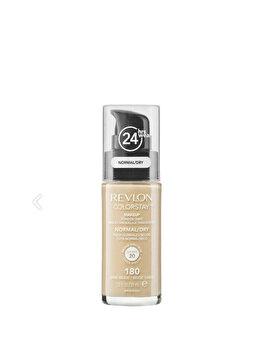 Fond de ten Colorstay pentru ten normal-uscat, 180 Sand Beige, 30 ml de la Revlon