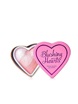 Blush Iluminator Makeup Revolution I Heart Makeup Blushing Hearts – Bursting With Love, 10g de la Makeup Revolution London