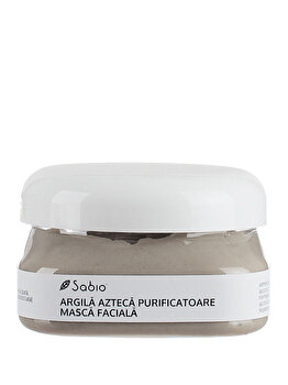 Masca faciala pentru ten gras, mixt, acneic cu Argila Azteca Purificatoare, 118 ml de la Sabio