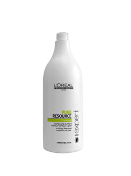 Sampon profesional purificator pentru par normal si gras L'Oréal Professionnel Serie Expert Pure Resource, 1500ml de la L'Oréal Professionnel