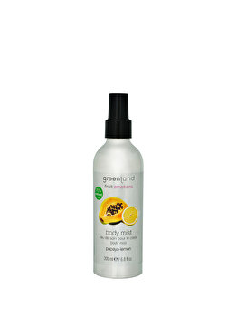 Spray corporal cu extract natural si parfum din papaya si lamaie, 200 ml de la Greenland
