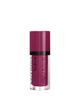 Ruj de buze Bourjois Rouge Edition Velvet, 14 Plum Plum Girl, 7.7 ml de la Bourjois