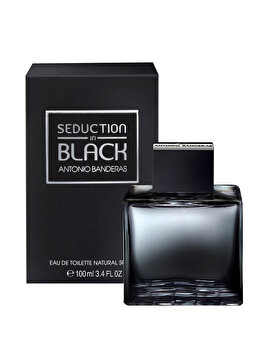 Apa de toaleta Antonio Banderas Seduction in Black, 100 ml, pentru barbati de la Antonio Banderas