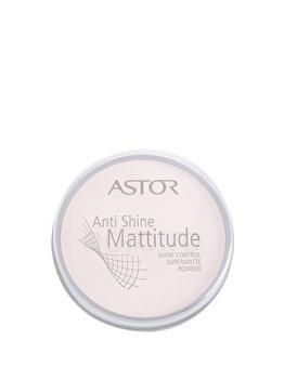 Pudra Anti Shine Mattitude, 001 Ivory, 001Ivory de la Astor