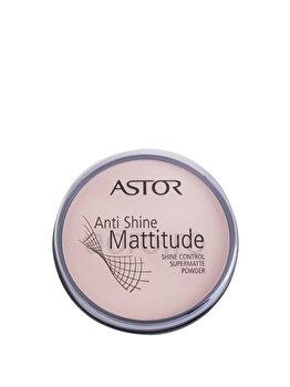 Pudra Anti Shine Mattitude, 002 Porcelain de la Astor