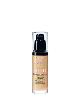 Fond de ten Bourjois 123 Perfect, 55 Dark Beige, 30 ml de la Bourjois