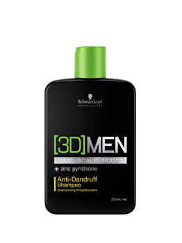 Sampon anti-matreata 3D Men, 250 ml de la Schwarzkopf Professional