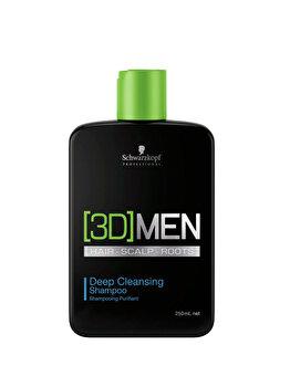 Sampon pentru purificare 3D Men, 250 ml de la Schwarzkopf Professional