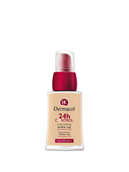 Fond de ten Dermacol 24 H Control Make-Up cu Q10, nr. 00, 30 ml de la Dermacol