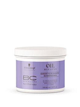 Masca de par regeneratore pentru par foarte uscat si deteriorat BC Bonacure Oil Miracle Barbary Fig Oil, 500 ml de la Schwarzkopf Professional