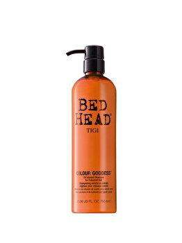 Sampon pe baza de ulei pentru par vopsit Bed Head Colour Goddess, 750ml de la Tigi